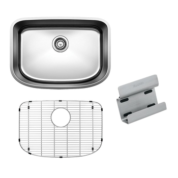 BLANCO ONE™ Medium Bowl with Stainless Steel Grid & Sink Caddy
