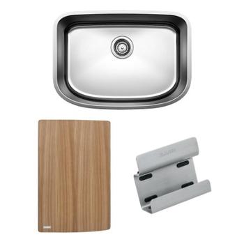 BLANCO ONE™ Medium Bowl with Cutting Board & Sink Caddy