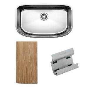 BLANCO ONE™ Super Single Bowl with Cutting Board & Sink Caddy