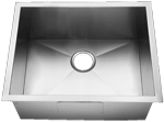 Homeplace HR-HBS2318B Alto 15-Gauge UnderMount Stainless Steel Kitchen Sink