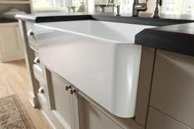 Blanco Apron Sink : ... Apron Front Kitchen Sink Blanco Fire Clay Kitchen / Bar Prep Sinks