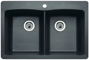 BLANCO DIAMOND™ Equal Double Bowl Kitchen Sink 33