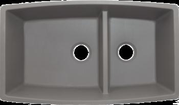 BLANCO PERFORMA™ 1-3/4 Medium Low Divide Bowl 33