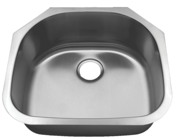 Futura Canton FA4405 Single Bowl Stainless Steel Kitchen Sink