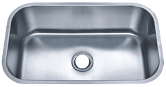 Futura FA868 El Camino Undermount Stainless Steel Kitchen Sink