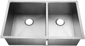 HomePlace HR-HBO3320AB Kilgore Reverse Undermount Stainless Steel Kitchen Sink