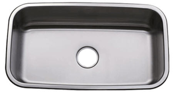 Oasis Gobi OA-0100 Single Bowl Stainless Steel Kitchen Sink