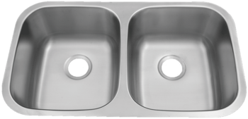 Patriot PAUD15 Floridian Undermount Stainless Steel Double Bowl Kitchen Sink