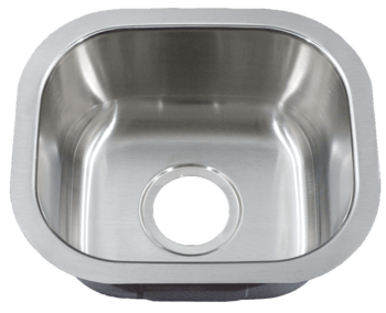 Patriot PAUS19 Arizonian Undermount Stainless Steel Single Bowl Bar Sink
