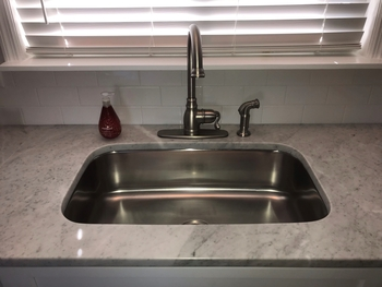 30 in Patriot Texan Undermount Stainless Steel Single Bowl Kitchen Sink