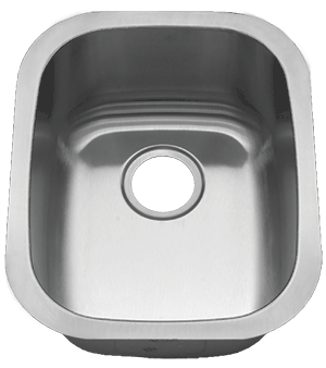 Royalty R10 Prince Undermount Stainless Steel Bar Sink