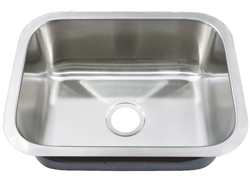 Cosmo 2325 X 18 X 9 Rectangle Stainless Steel Undermount Sink 18