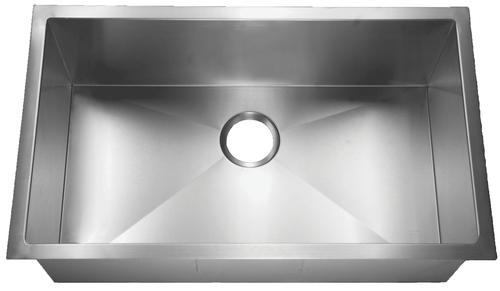 HomePlace HR-HBS3018B Crockett Undermount Stainless Steel Kitchen Sink