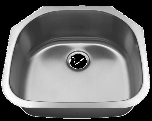Futura Canton FA4405 Single Bowl Stainless Steel Kitchen Sink | Leonet & Futura Stainless Steel Kitchen Sink