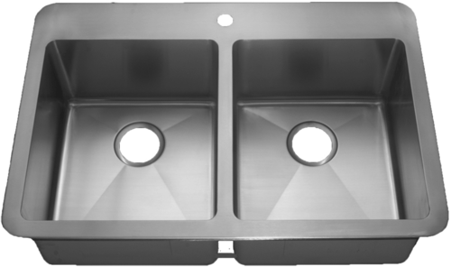 HomePlace HR- HA291B Henderson Drop-In Stainless Steel Kitchen Sink | HomePlace Kitchen Sink