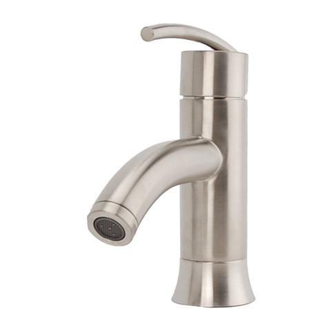Vincennes Single Post Bathroom Faucet In Brushed Nickel