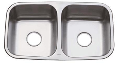 Oasis Sahara OA-50/50 Double Bowl Stainless Steel Kitchen Sink | Urban Place & Oasis Kitchen Sink