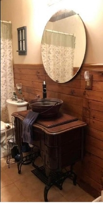 15 Round Artisan Made Copper Bucket Vessel Bathroom Sink Bucket Sinks