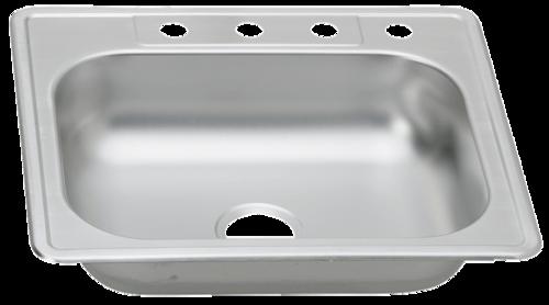 31 in Patriot PADS23 Minnesotan Drop-In Stainless Steel Single Bowl Kitchen Sink | Patriot