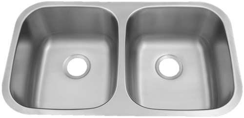Patriot PAUD15 Floridian Undermount Stainless Steel 50/50 Bowl Kitchen Sink | Patriot