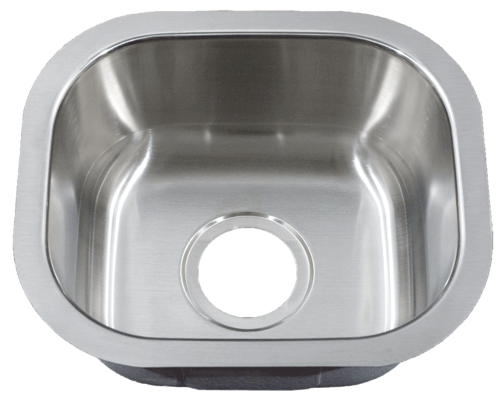 Patriot PAUS19 Arizonian Undermount Stainless Steel Single Bowl Bar Sink | Stainless Steel Bar Sink