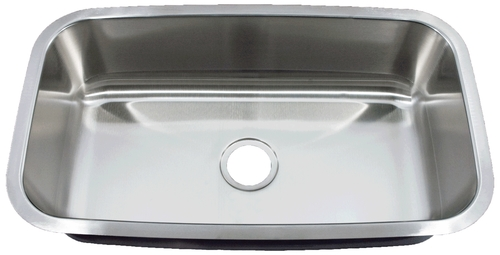 Royalty R06 Travajo Undermount Stainless Steel Kitchen Sink