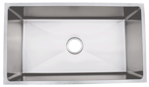 Urban PlaceRadial Edges R- ZS-300 Single Bowl Stainless Steel Kitchen Sink | Urban Place & Oasis Kitchen Sink