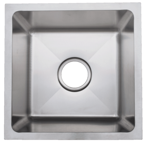 Urban Place Radial Edge R- ZS-500 Single Bowl Stainless Steel Sink | Urban Place & Oasis Kitchen Sink