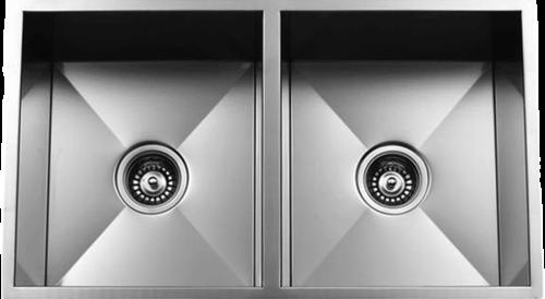 Urban Place Zero Edge ZS-100 Double Bowl Stainless Steel Kitchen Sink | Urban Place & Oasis Kitchen Sink
