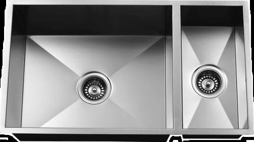 Urban Place Zero Edge ZS-200 Double Bowl Stainless Steel Kitchen Sink   Urban Place & Oasis Kitchen Sink