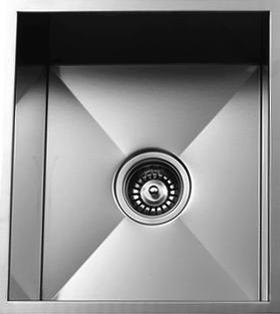 Urban Place Zero Edge ZS-500 Single Bowl Stainless Steel Sink | Urban Place & Oasis Kitchen Sink