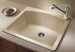 BLANCODIAMOND™ Single Bowl Bar / Prep Sink 25