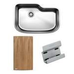 BLANCO ONE™ XL Single Bowl with Cutting Board & Sink Caddy