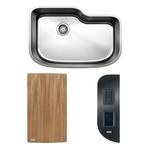 BLANCO ONE™ XL Single Bowl with Cuttin Board & Workstation