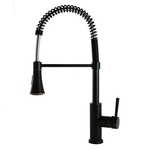 Modern European Residential Spring Pull Down Kitchen Faucet in Oil Rubbed Bronze
