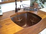 Copper Bar / Prep Sinks