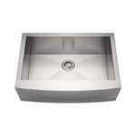 Image Farmhouse Stainless Steel Kitchen Sink