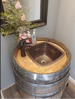 Image Copper Bathroom Sinks