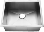 Homeplace HR-HBB1818B Conroe 15-Gauge  Stainless Steel Kitchen Sink