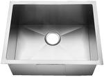 Homeplace HR-HBB1818B Conroe 15-Gauge  Stainless Steel Kitchen Sink