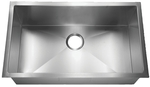 HomePlace HR-HBS3018B Crockett Undermount Stainless Steel Kitchen Sink