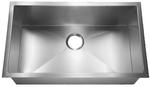 HomePlace HR-HBS3018 Crockett Undermount Stainless Steel Kitchen Sink