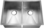 HomePlace HR-HBE2920B Fairfield Undermount Stainless Steel Kitchen Sink  Radial