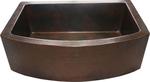 33 in. Copper Farmhouse Kitchen Sink 10