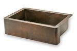 30 in. Copper Farmhouse Kitchen Sink 9