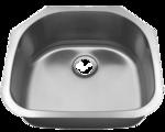 Futura Canton FA4405 Single Bowl Stainless Steel Kitchen Sink
