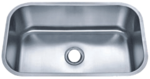 Futura FA868 El Camino Undermount Stainless Steel Kitchen Sink