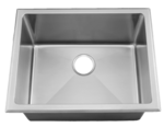 HomePlace HR-HA450 Milam Dual Mount Stainless Steel Laundry Sink