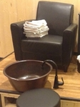 Copper  Spa Pedicure Bowl