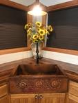 Copper Kitchen Farmhouse Sink